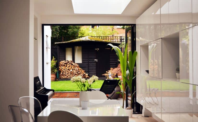 Home Office Extension Architectural Design and Fine Art in Crouch End London N8